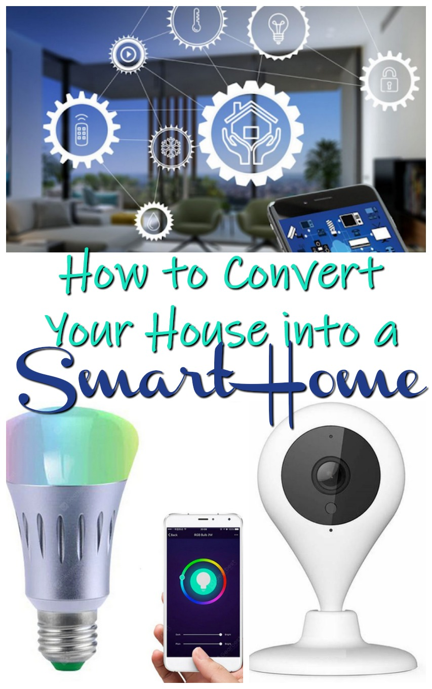 How to Convert Your House into a Smart Home #homeandliving #technology #smarthome