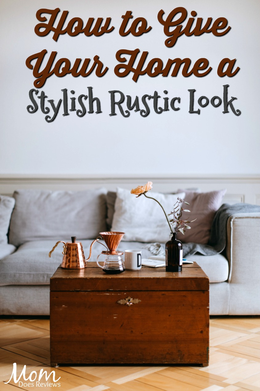 How to Give Your Home a Stylish Rustic Look #home #interiordesign #fireplace