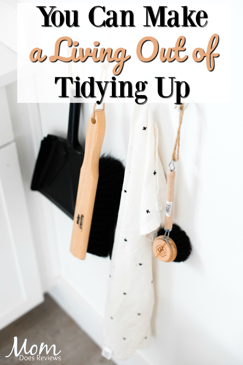 Make a Living Out of Tidying Up #cleaning #entrepreneur #home