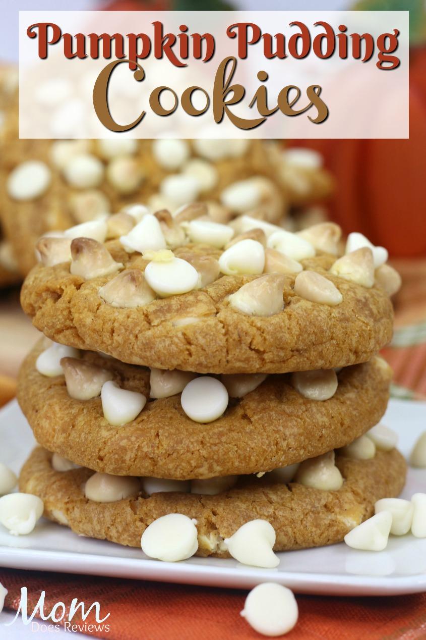 Pumpkin Pudding Cookies #dessert #pumpkinspice #cookies