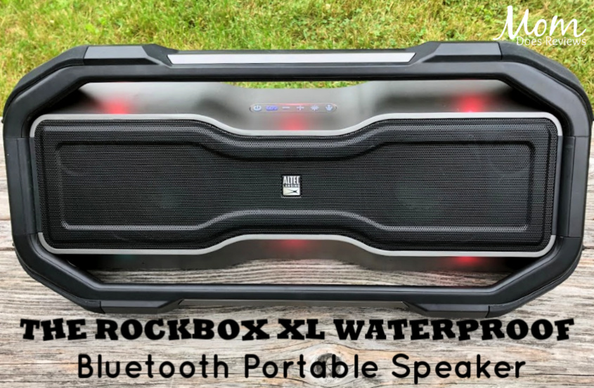 Light Up Your Party with The RockBox XL Waterproof Bluetooth Portable Speaker- It Even Floats! #myalteclansing at #BestBuy