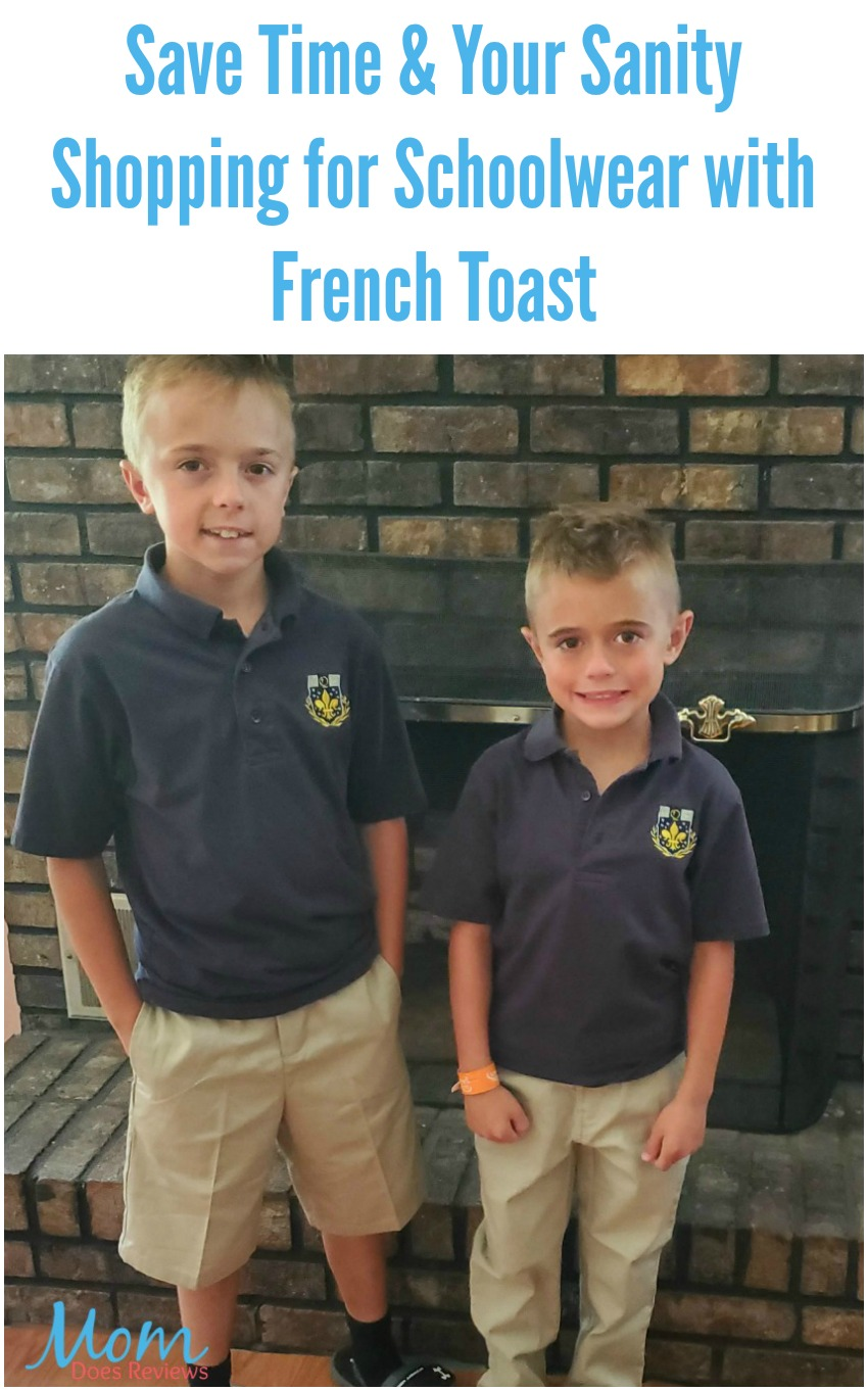 Save Time & Your Sanity Shopping for Schoolwear with French Toast