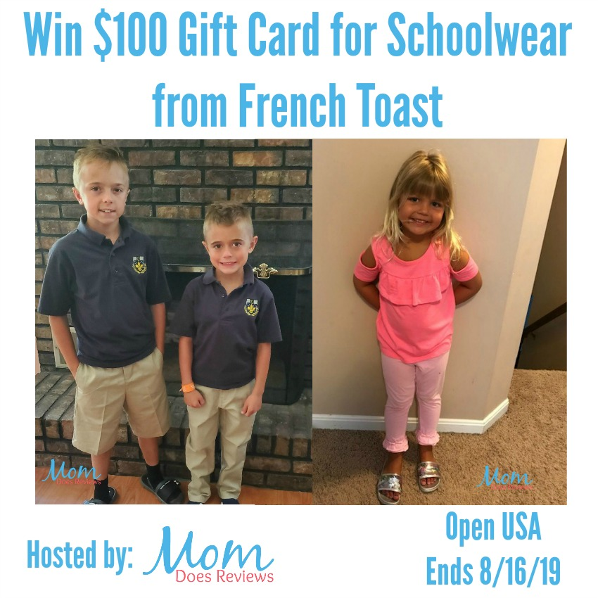 Win $100 Gift Card for Schoolwear from French Toast