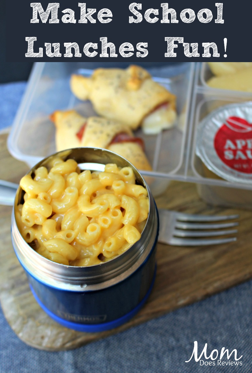 Mac and Cheese and ham twists- 1 of 5 Fun and Easy School Lunches! #Back2School19