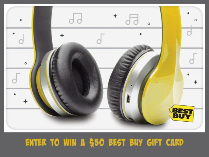 #Win $50 Best Buy GC! US/CAN ends 9/3