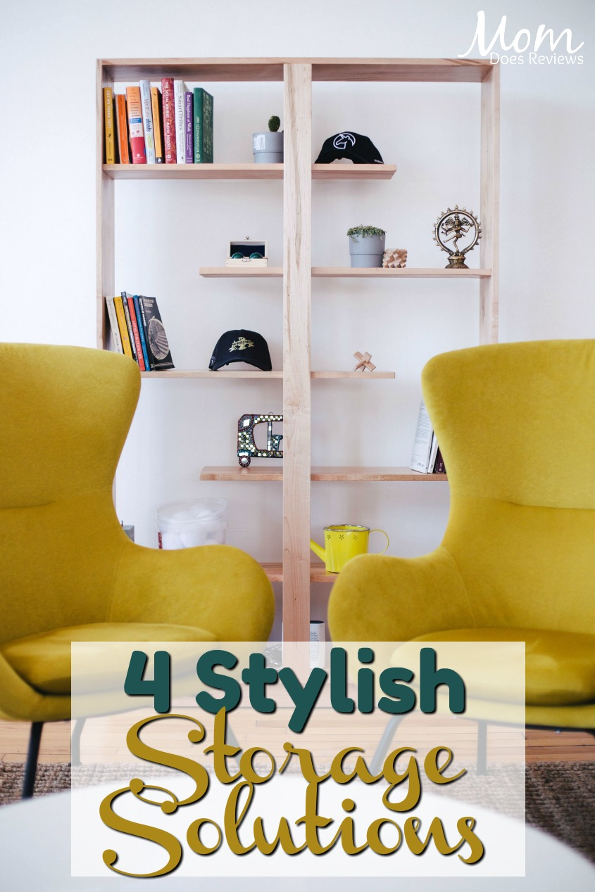 4 Storage Solutions That Give Your Home a New Take on Style and Function #storage #homedecor #organization