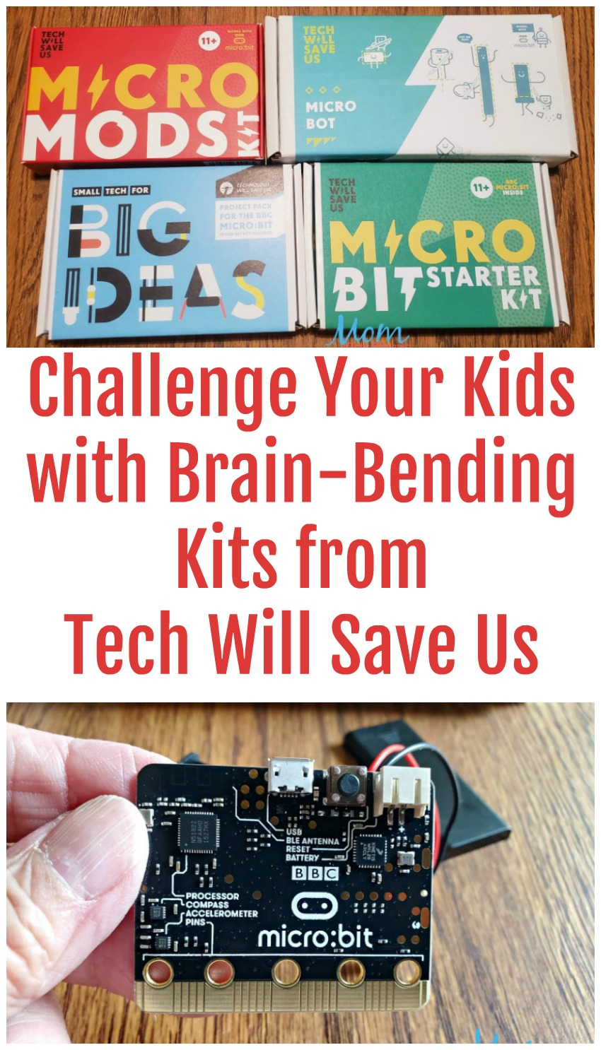 Challenge Your Kids with Brain-Bending Kits from Tech Will Save Us