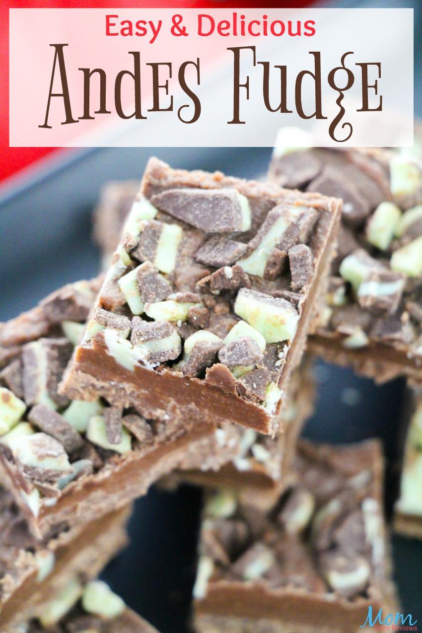 Easy & Delicious Andes Fudge Recipe #desserts #fudge #easyrecipe