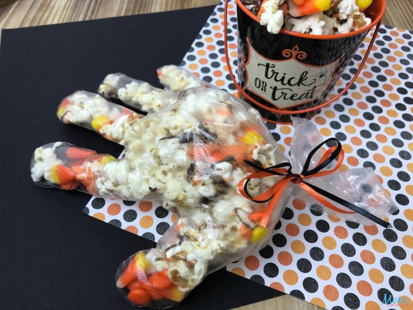 Halloween Glove Popcorn for a Fun Treat