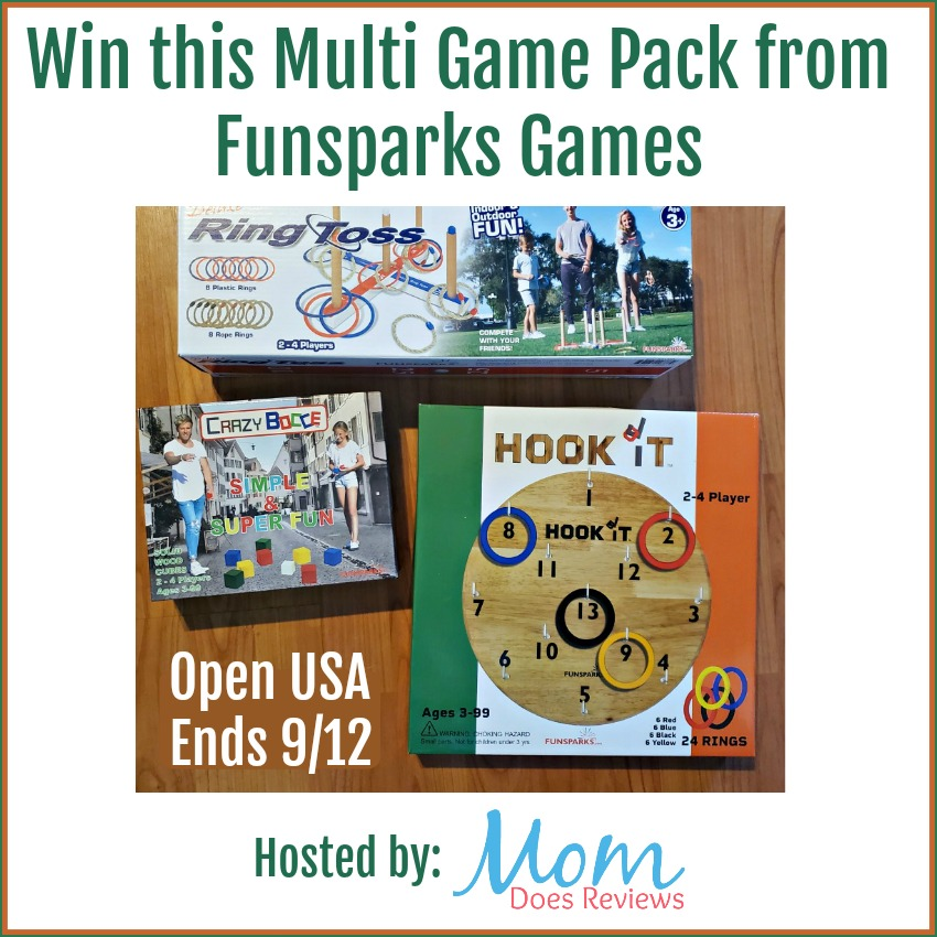 Win this Multi Game Pack from Funsparks Games