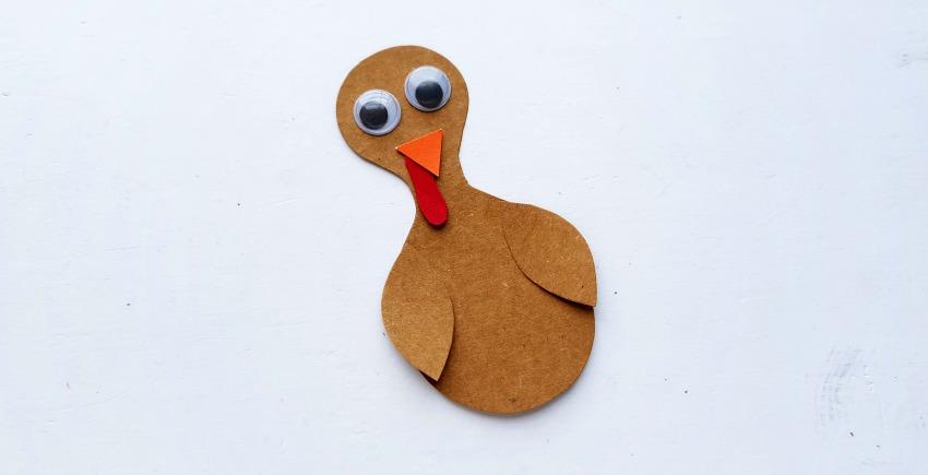 Paper Turkey Craft process