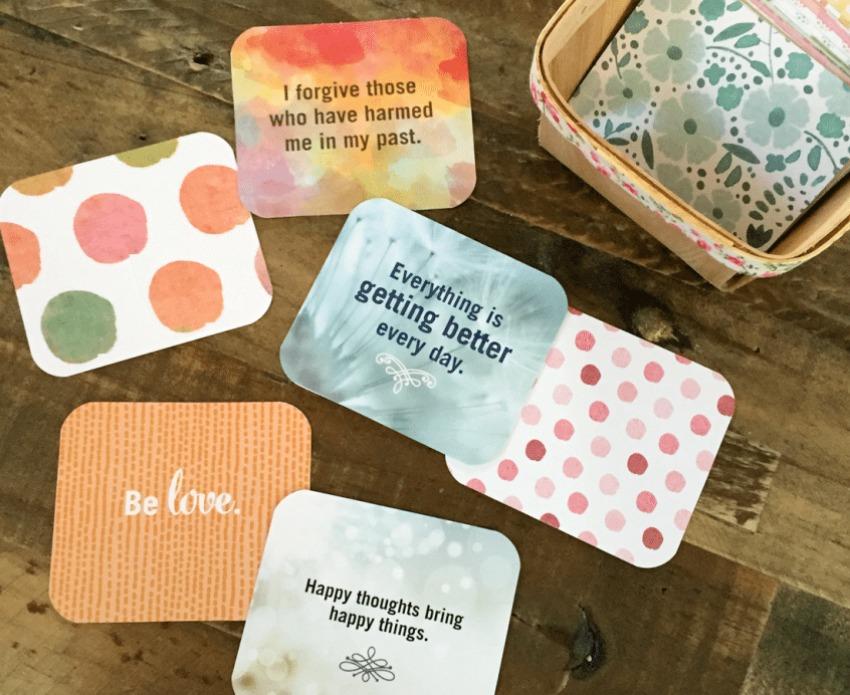 Printable Affirmation Cards - Pamer Your Self Esteem