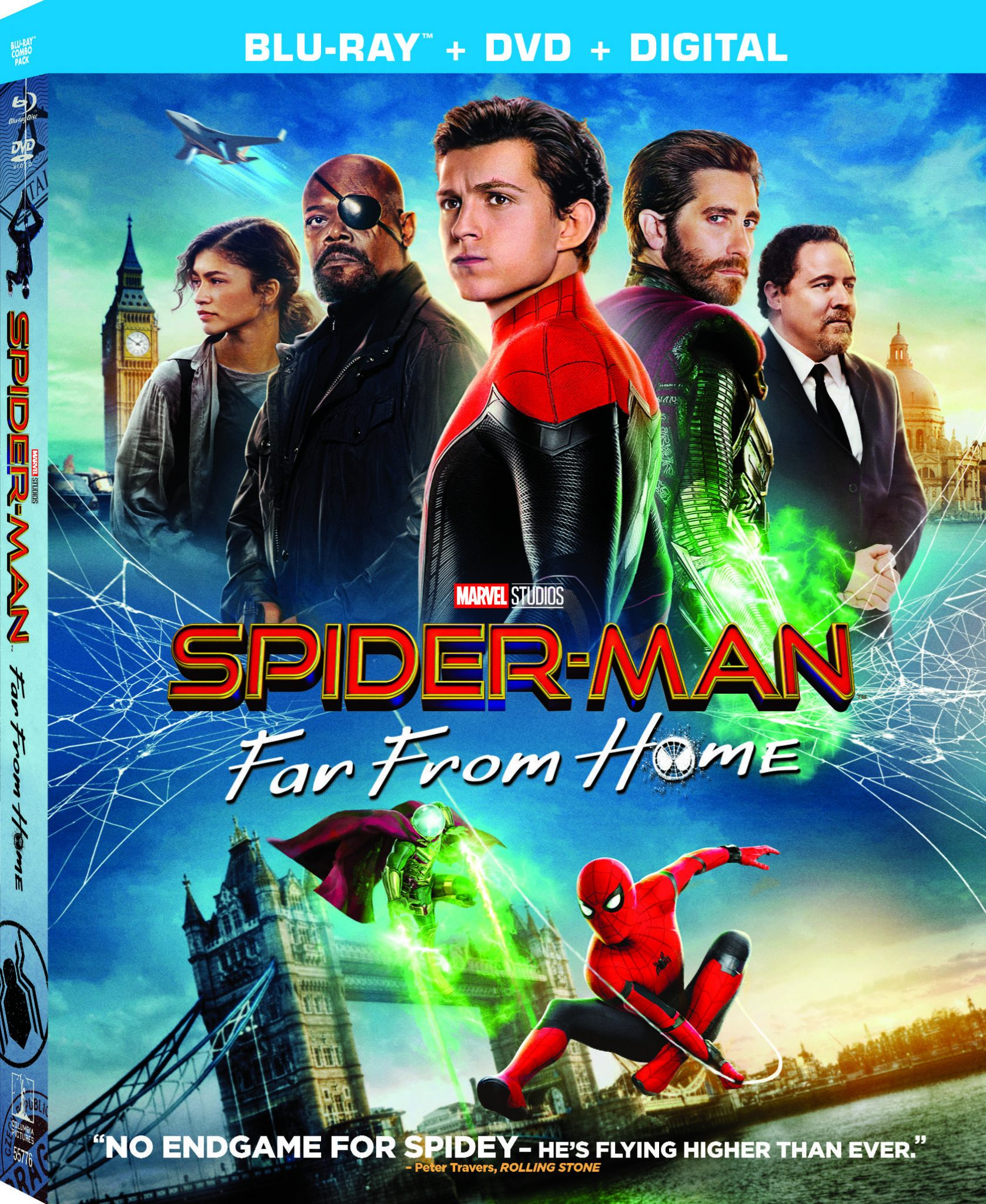Spider-Man: Far From Home on Digital 9/17 & on 4K Ultra HD Blu-ray™ & DVD 10/1 #SpiderManFarFromHome