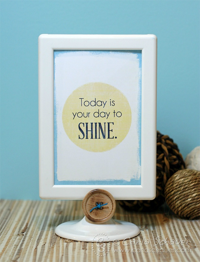Time to Shine Inspriation Notes
