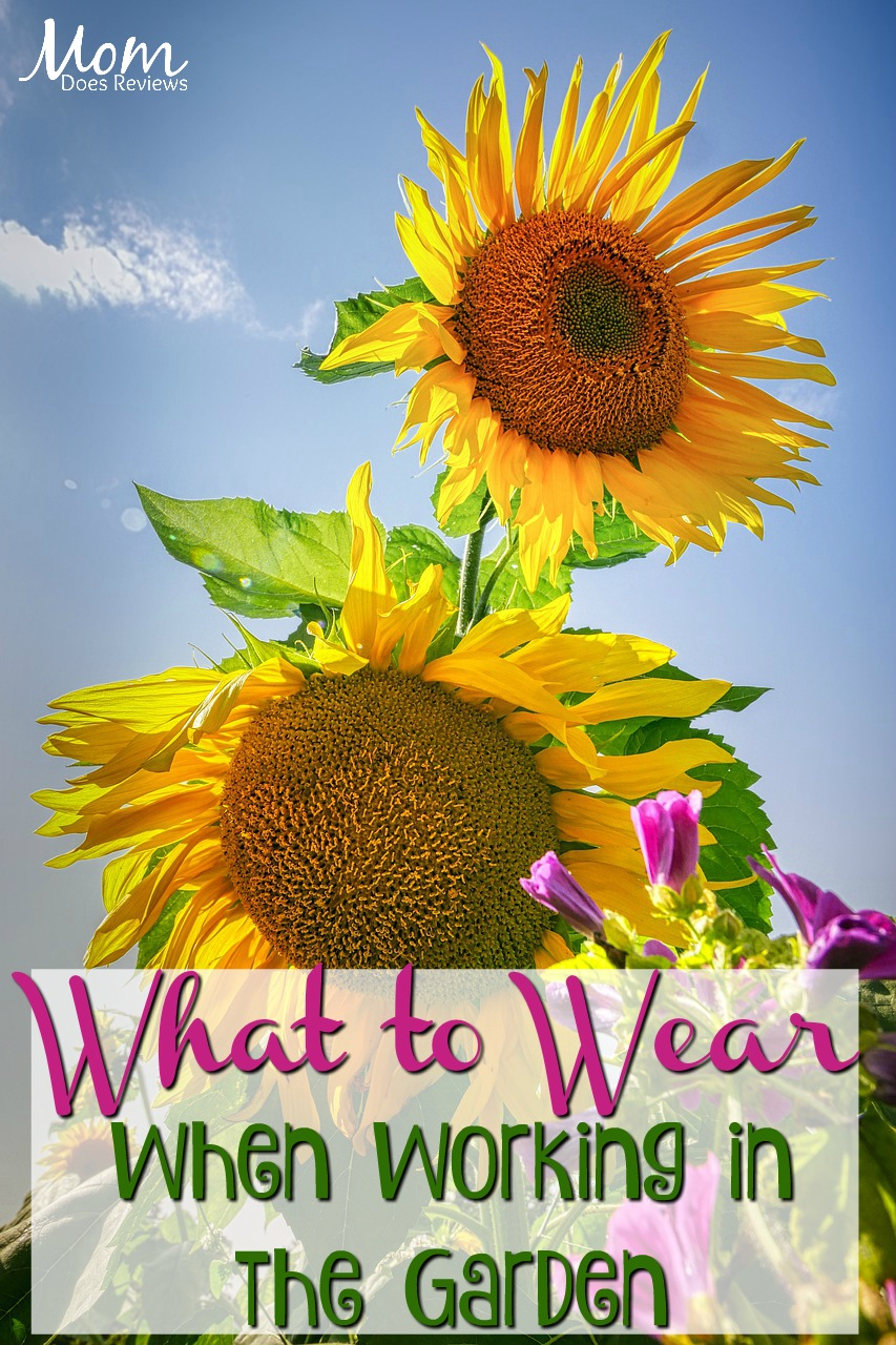 What to Wear When Working in the Garden #gardening #garden #tools
