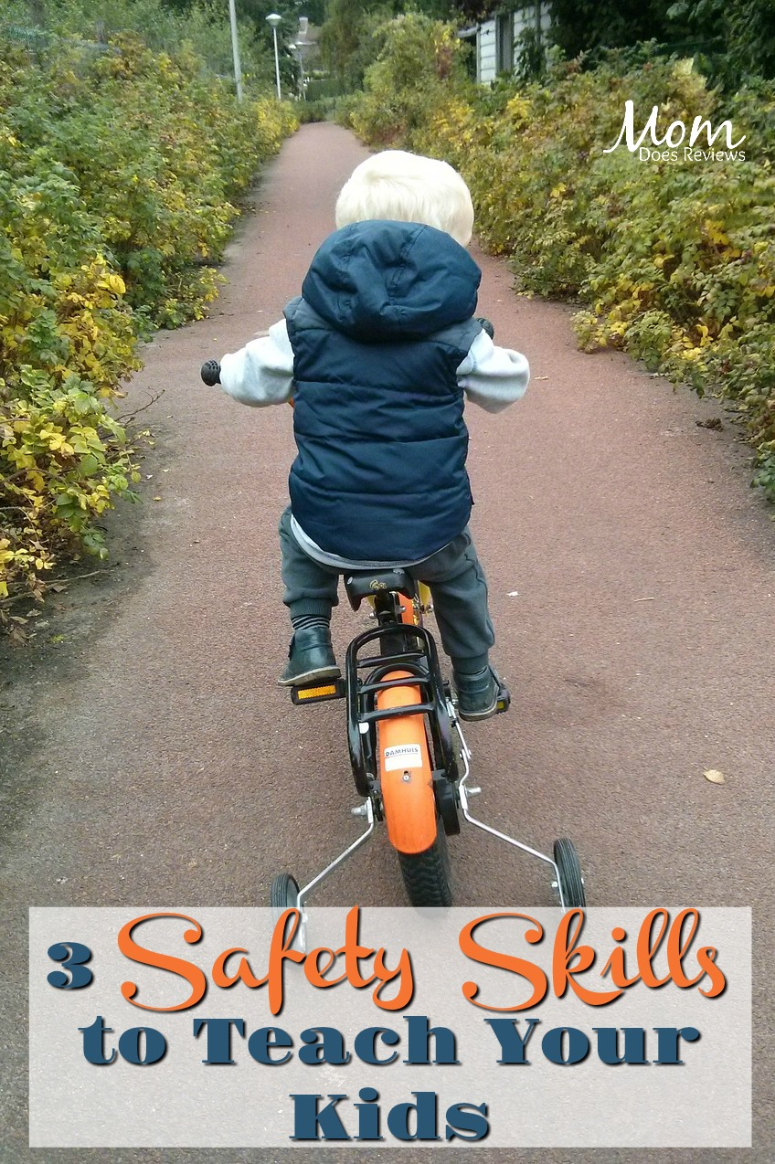 Which Safety Skills Are Most Important to Teach My Kids? #parenting #safety #firesafety