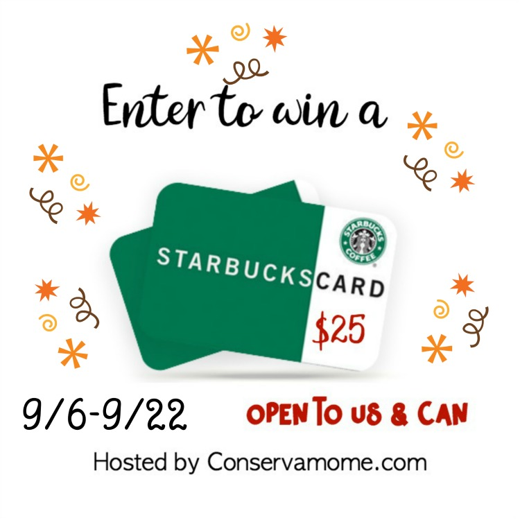 #Win $25 Starbucks GC!  US/CAN ends 9/22