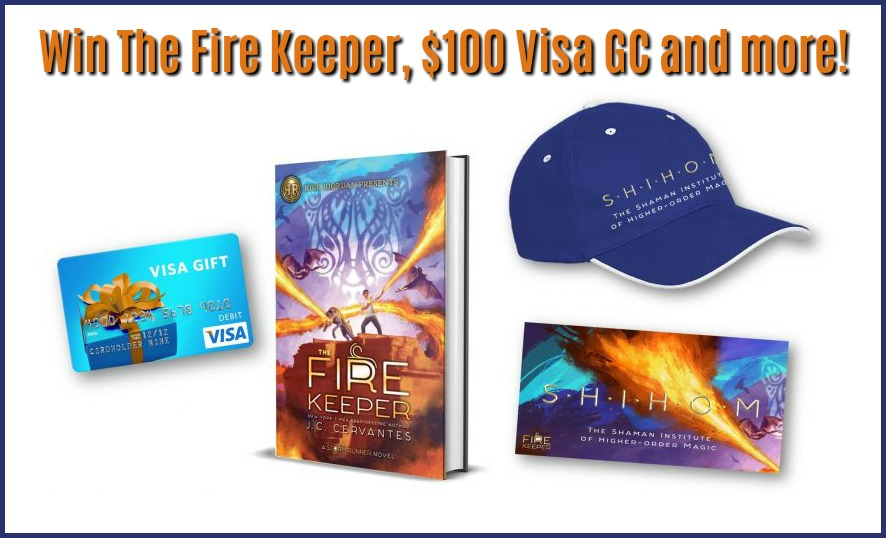 #Win $100 Visa CG & The Fire Keeper by J.C. Cervantes #TheFireKeeper
