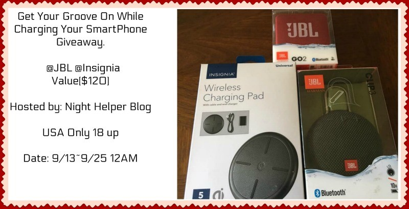 Get Your Groove On While Charging Your SmartPhone Giveaway