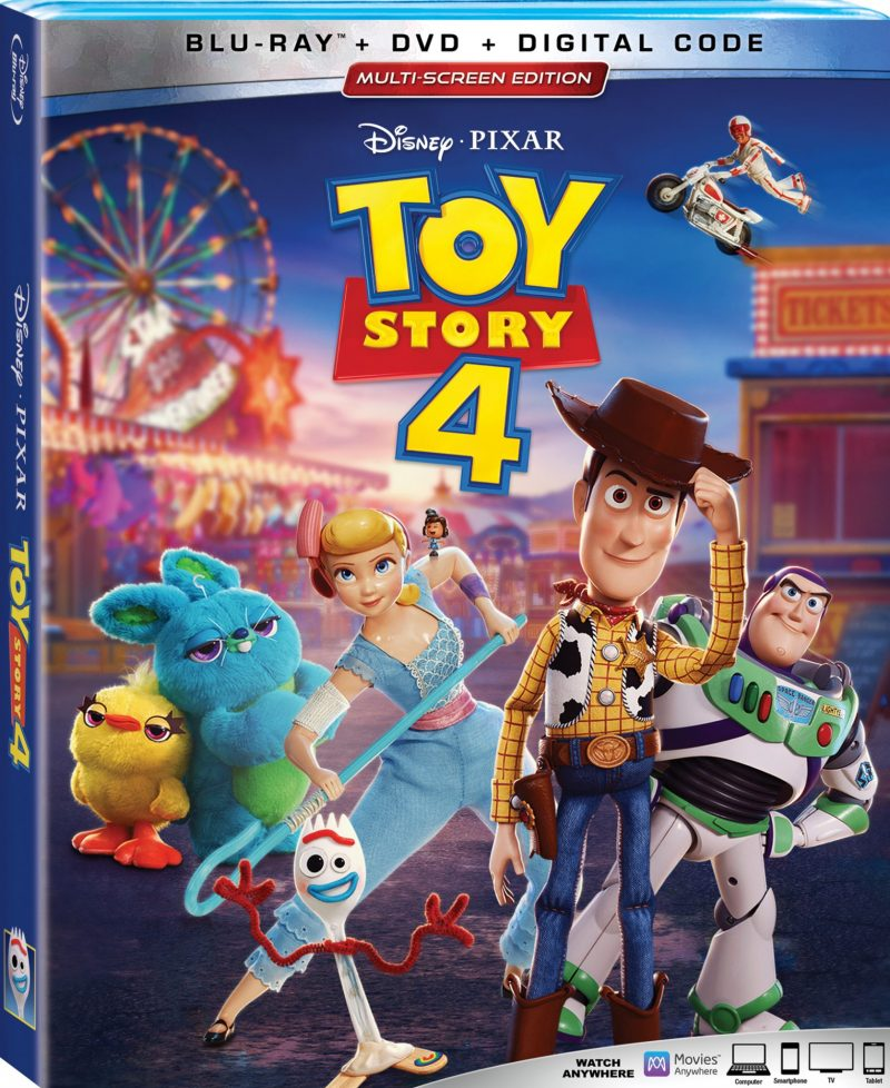 Get Toy Story 4 on DVD October 8 & Free #Printables Here! #ToyStory4