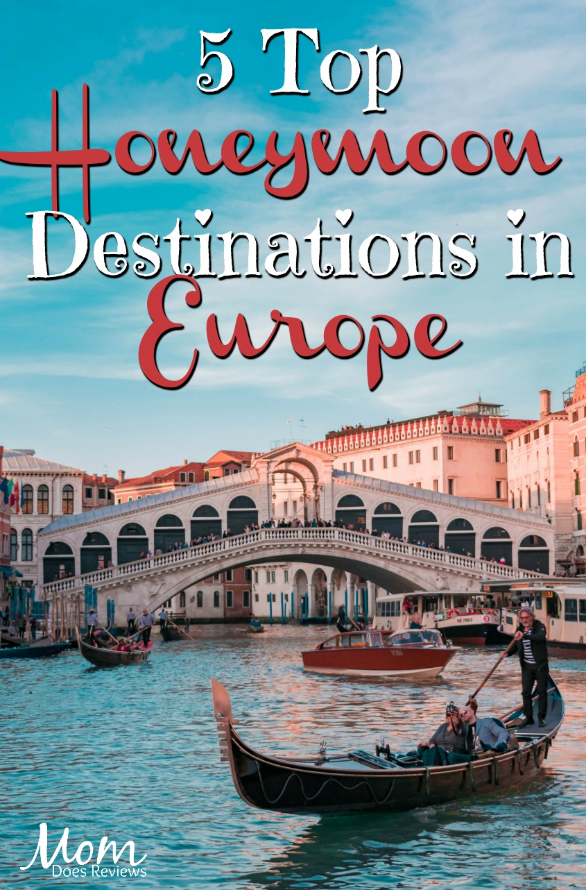 5 Top Honeymoon Destinations in Europe #travel #honeymoon #vacation