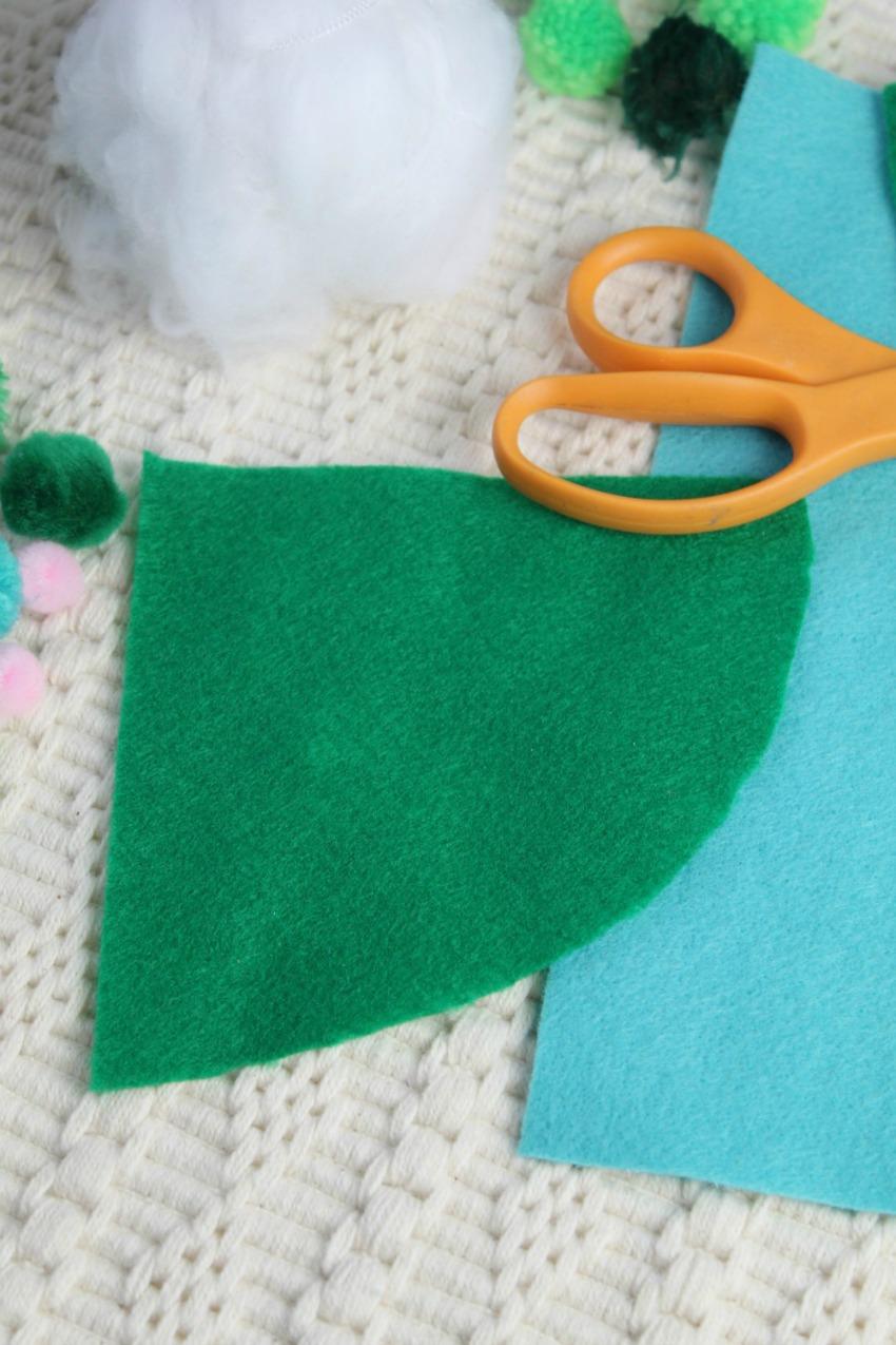 Christmas Gnome Craft process