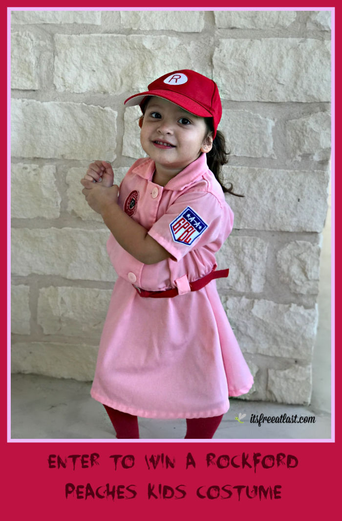 Enter to #Win a Rockford Peaches Kid's Costume