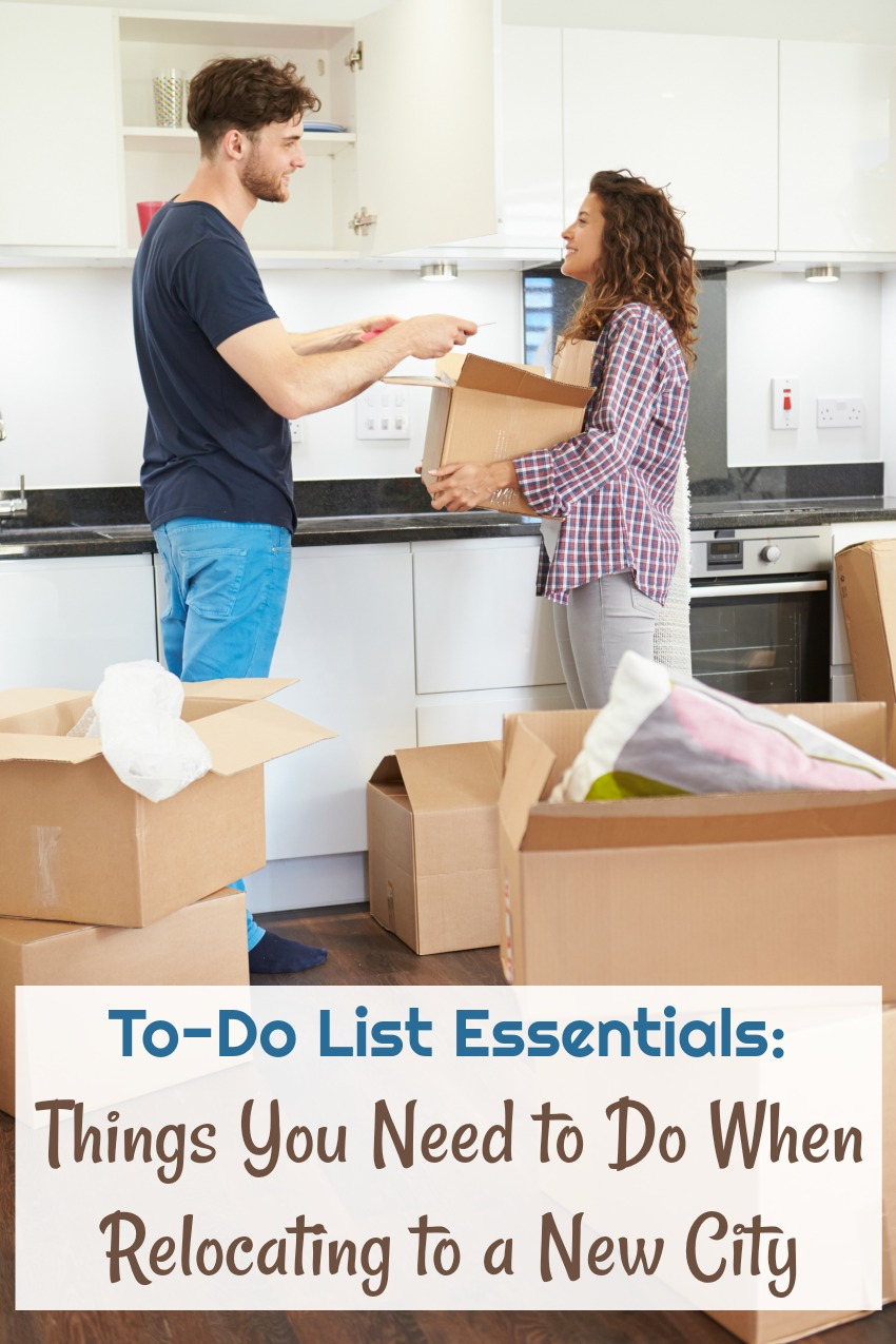 To-Do List Essentials: Things You Need to Do When Relocating to a New City