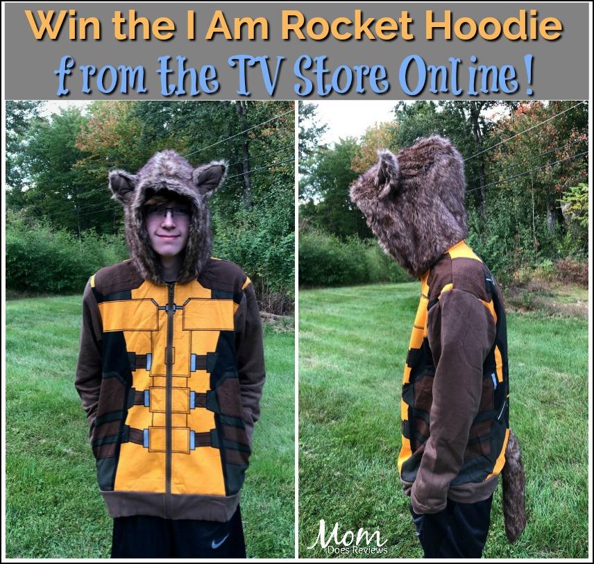 #Win the I Am Rocket Hoodie from TV Store Online! #halloween #halloweencostume #GOTG